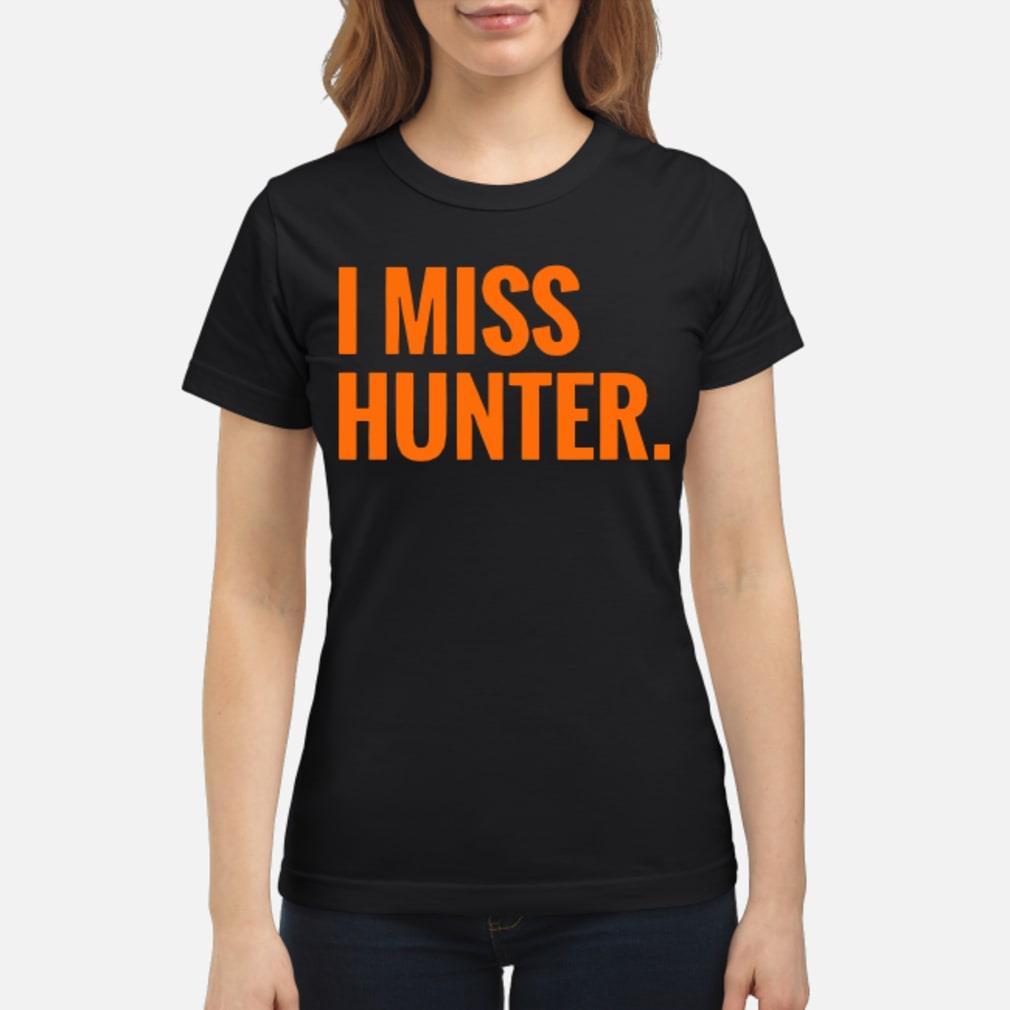 Ryan Scott I Miss Hunter Shirt ladies tee