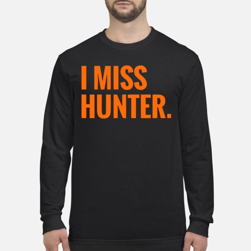 Ryan Scott I Miss Hunter Shirt Long sleeved