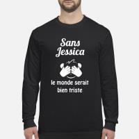 Sans Jessica le bien triste ladies shirt long sleeved