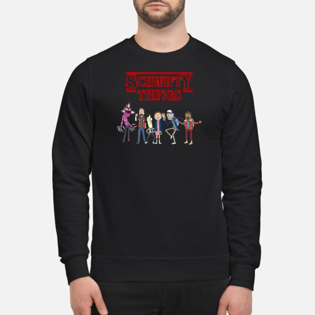 Schwifty things Shirt sweater