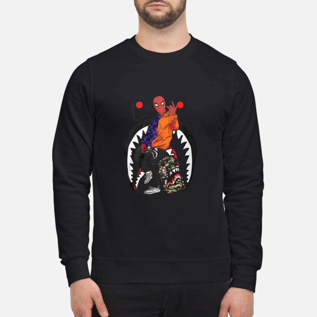 Sharkder-man Spidrman Far from home shirt sweater