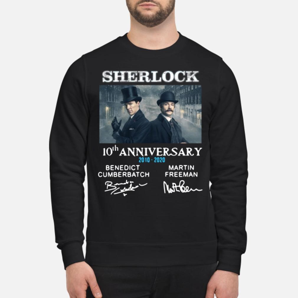 Sherlock Holmes 10th Anniversary Signature Shirt sweater