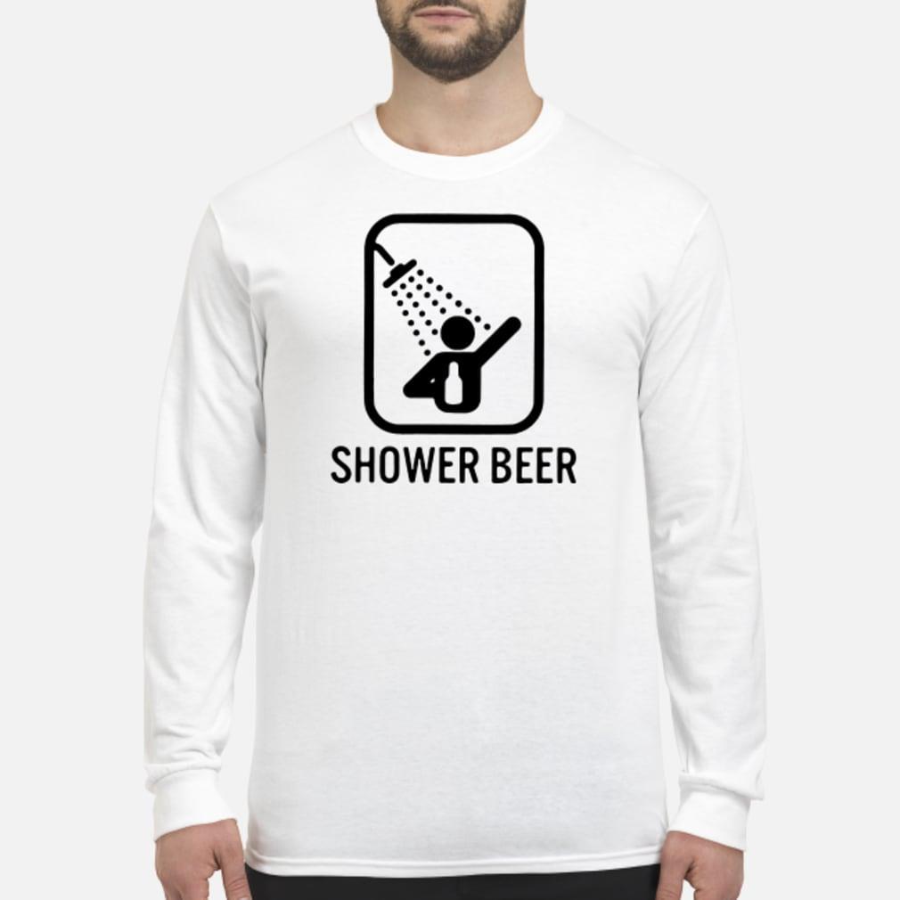 Shower beer shirt Long sleeved