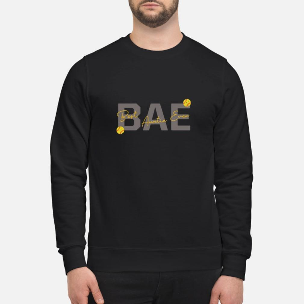 Softball Bae Best Auntie Ever Shirt sweater