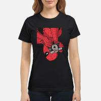 Spider man Photographer shirt ladies tee