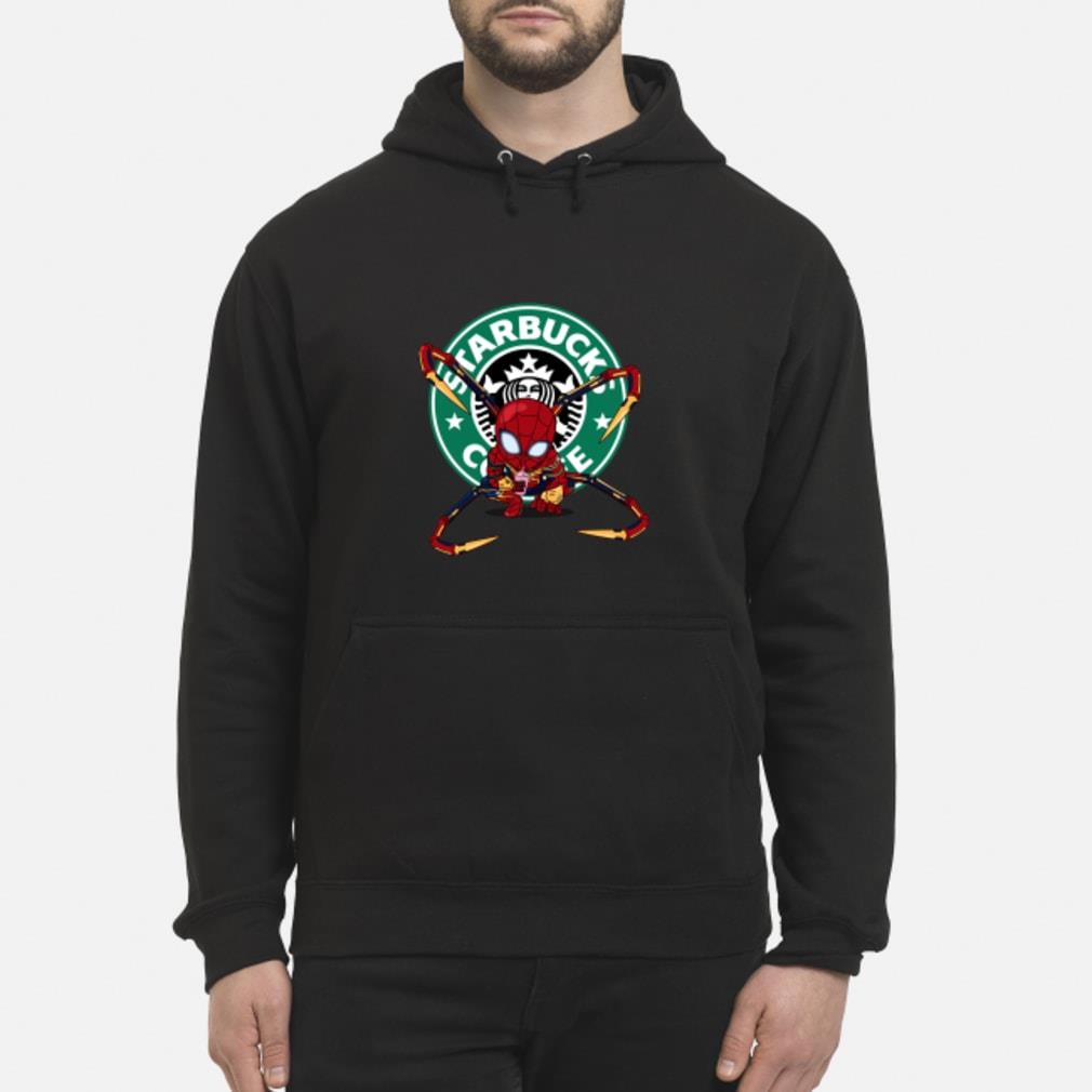 Spider-man Starbucks Coffee Shirt hoodie