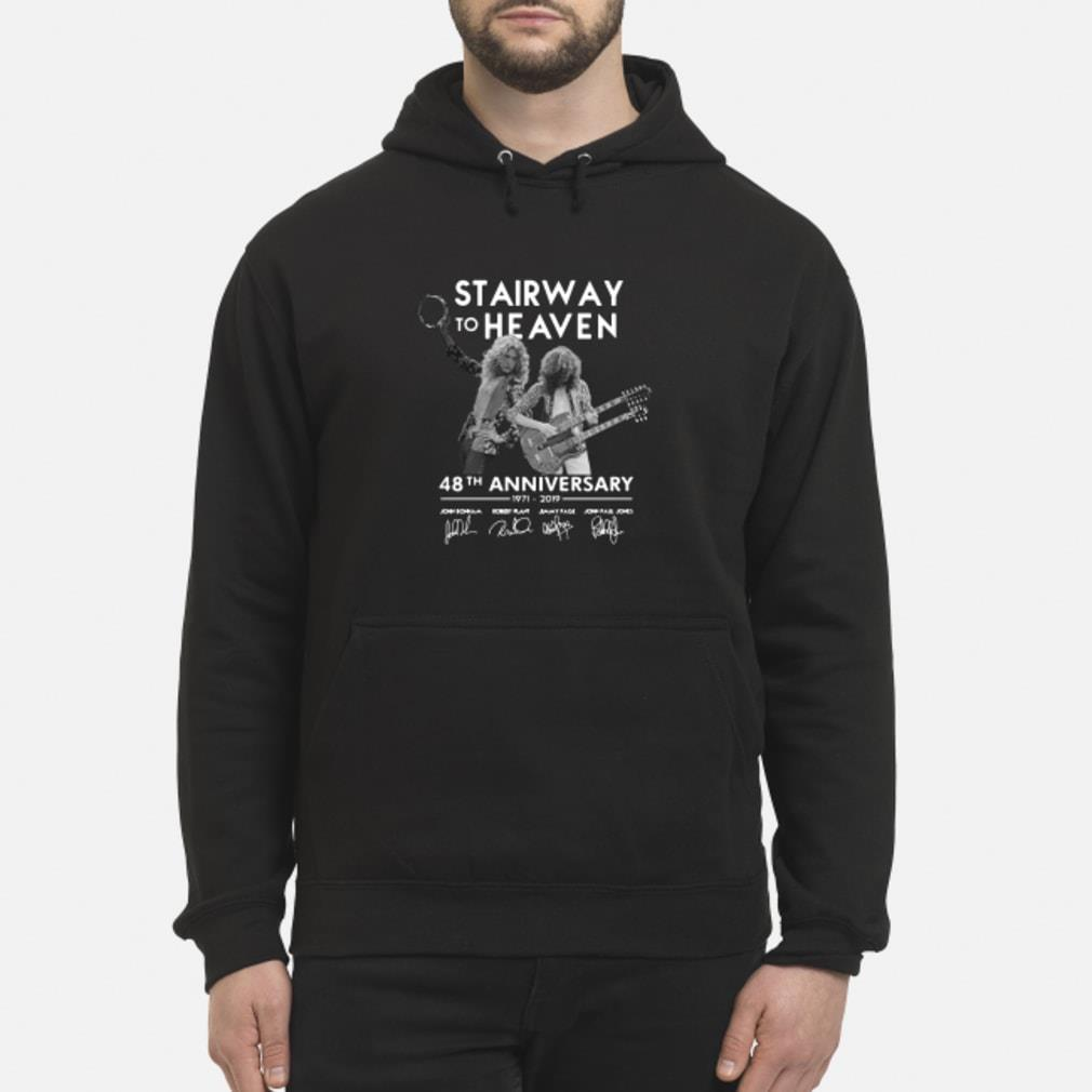 Stairway To Heaven 48th Anniversary Shirt hoodie