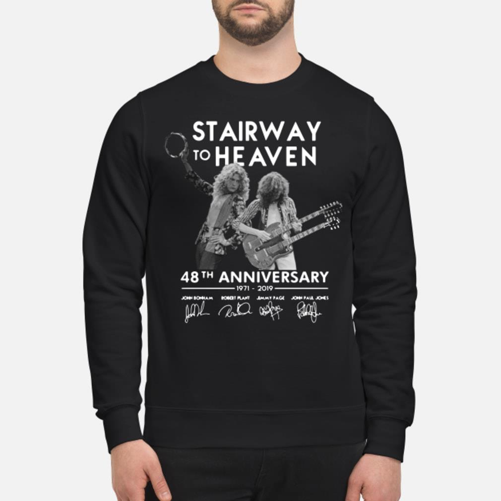 Stairway To Heaven 48th Anniversary Shirt sweater