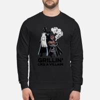 Star wars Grillin' like a Villain shirt sweater