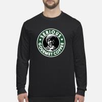 Starbuck Serious Gourmet coffee shirt long sleeved