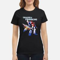 Starscream Transformers Shirt ladies tee