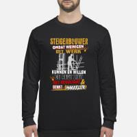 Steigerbouwer shirt long sleeved