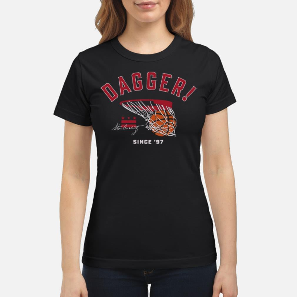 Steve Buckhantz Dagger Signature Shirt ladies tee