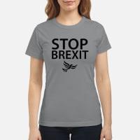 Stop Brexit T shirt ladies tee