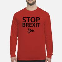 Stop Brexit T shirt long sleeved
