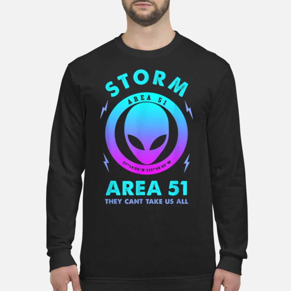 Storm area 51 event Shirt Long sleeved