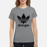 Stranger Things Adidas Demogorgon Shirt ladies tee