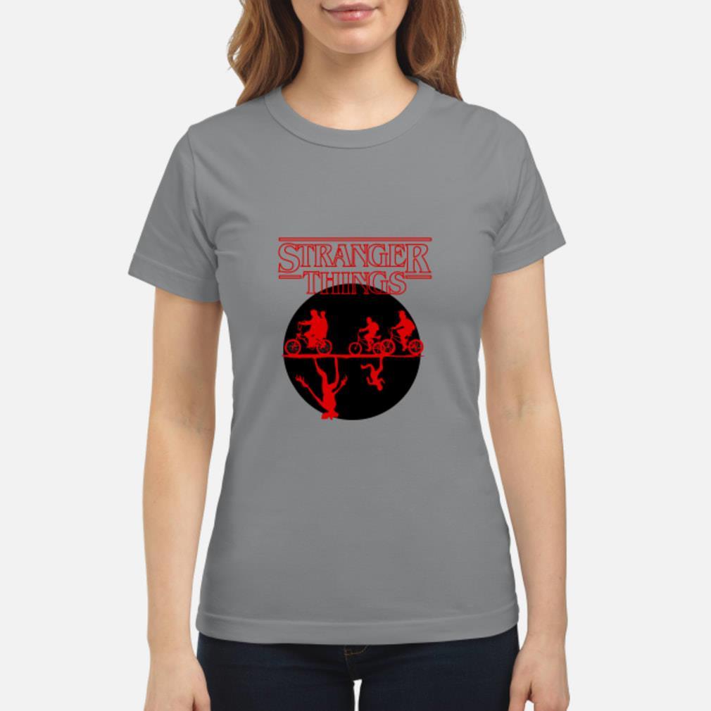 Stranger Things Bike Rides Shirt ladies tee