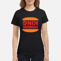 Stranger things burger shirt ladies tee