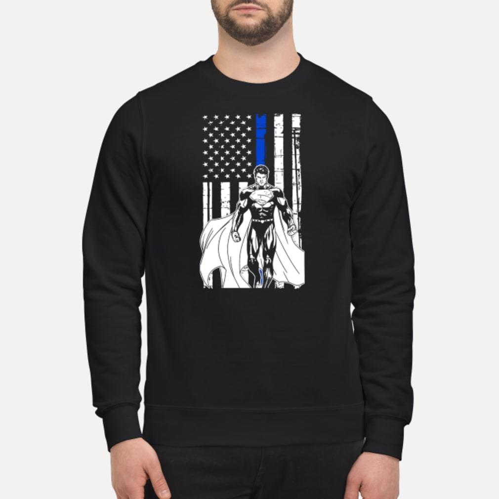Superman american flag Shirt sweater