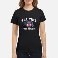 Tea Time Alex Morgan T-Shirt ladies tee