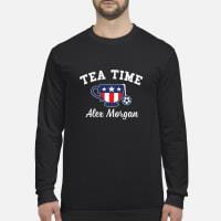 Tea Time Alex Morgan T-Shirt long sleeved