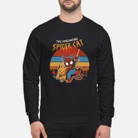 The Ameozing Spider Cat Shirt sweater