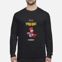 The Avengers Featuring The Amazing Spider Bart Shirt long sleeved