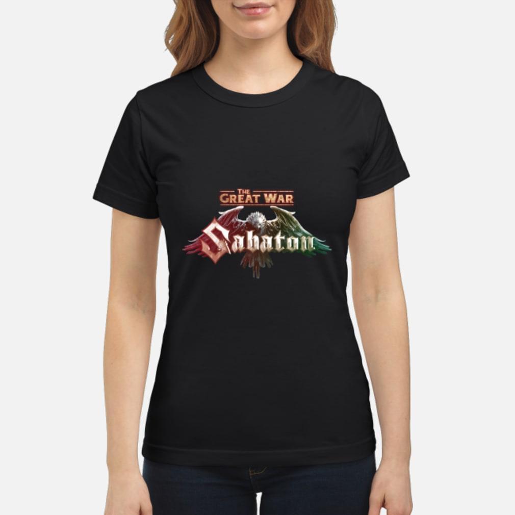 The Great War Sabaton Shirt ladies tee