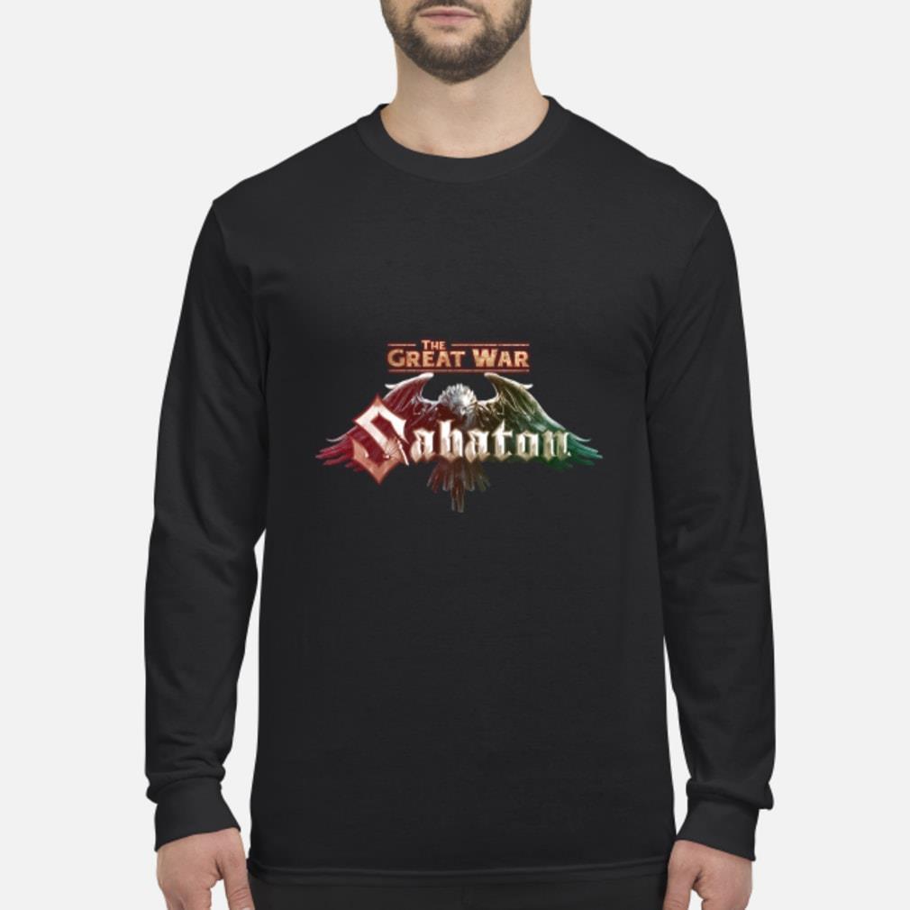 The Great War Sabaton Shirt Long sleeved