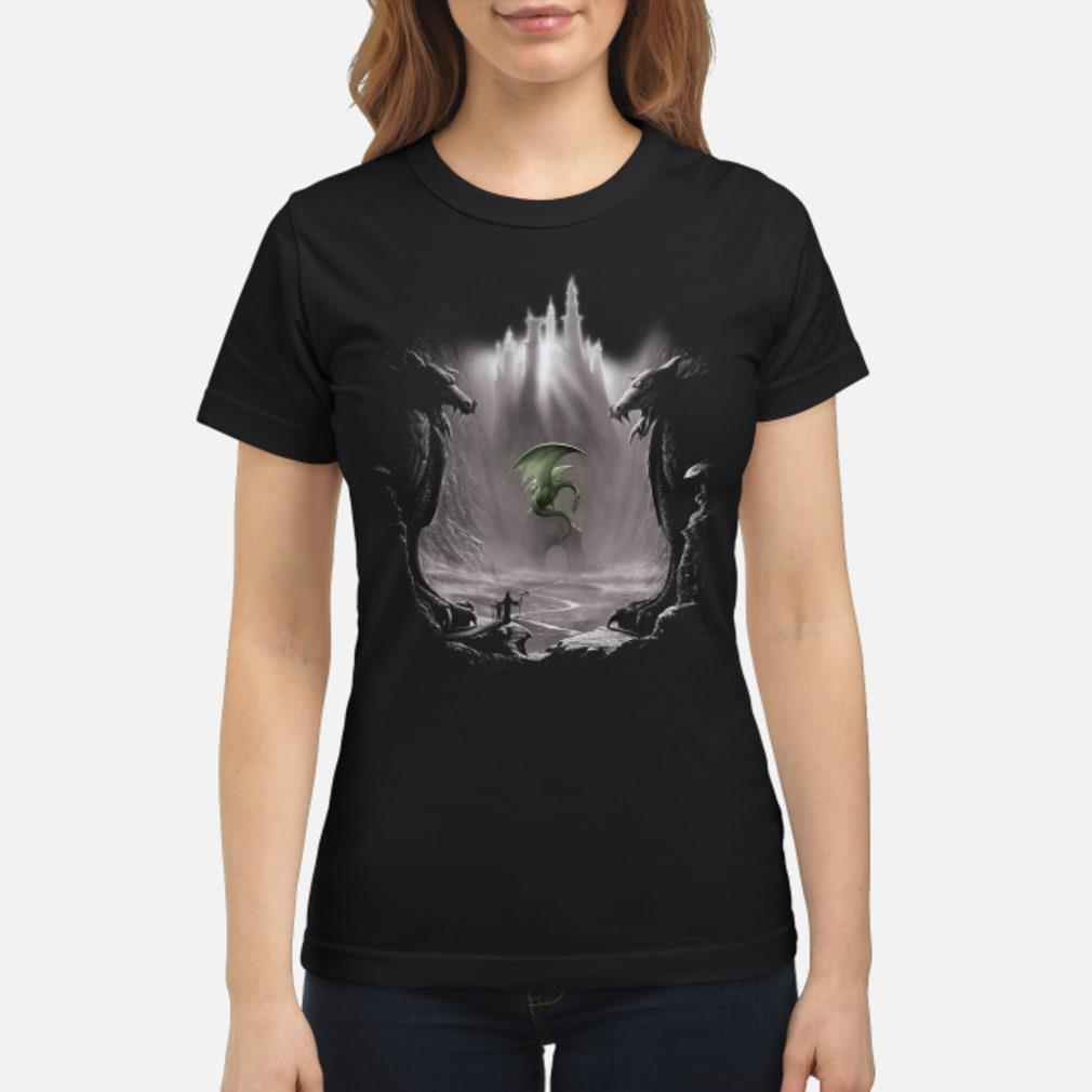 The Mountain Lost Dragon Valley T Shirt ladies tee