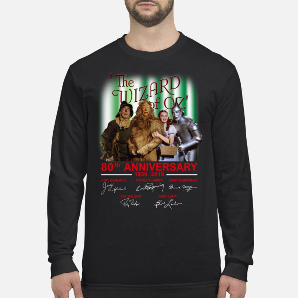 The Wizard Of OZ 80th Anniversary Shirt Long sleeved