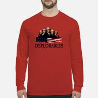 The deplorables Shirt long sleeved