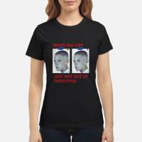 UNIF boys do cry just not out of their eyes Stranger things ladies tee ladies tee