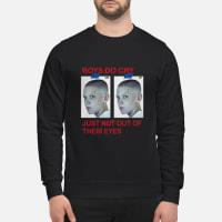 UNIF boys do cry just not out of their eyes Stranger things ladies tee sweater