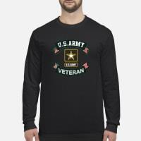US Army Veteran Ribbon shirt long sleeved