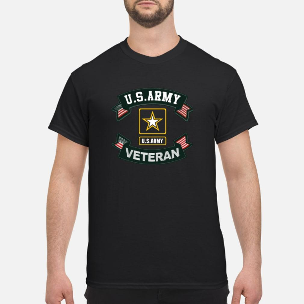 US Army Veteran Ribbon shirt