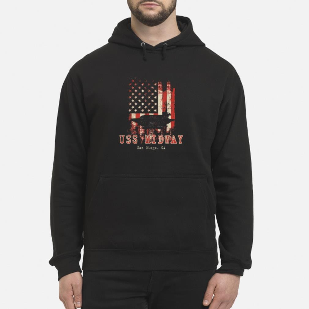 USS Midway shirt hoodie