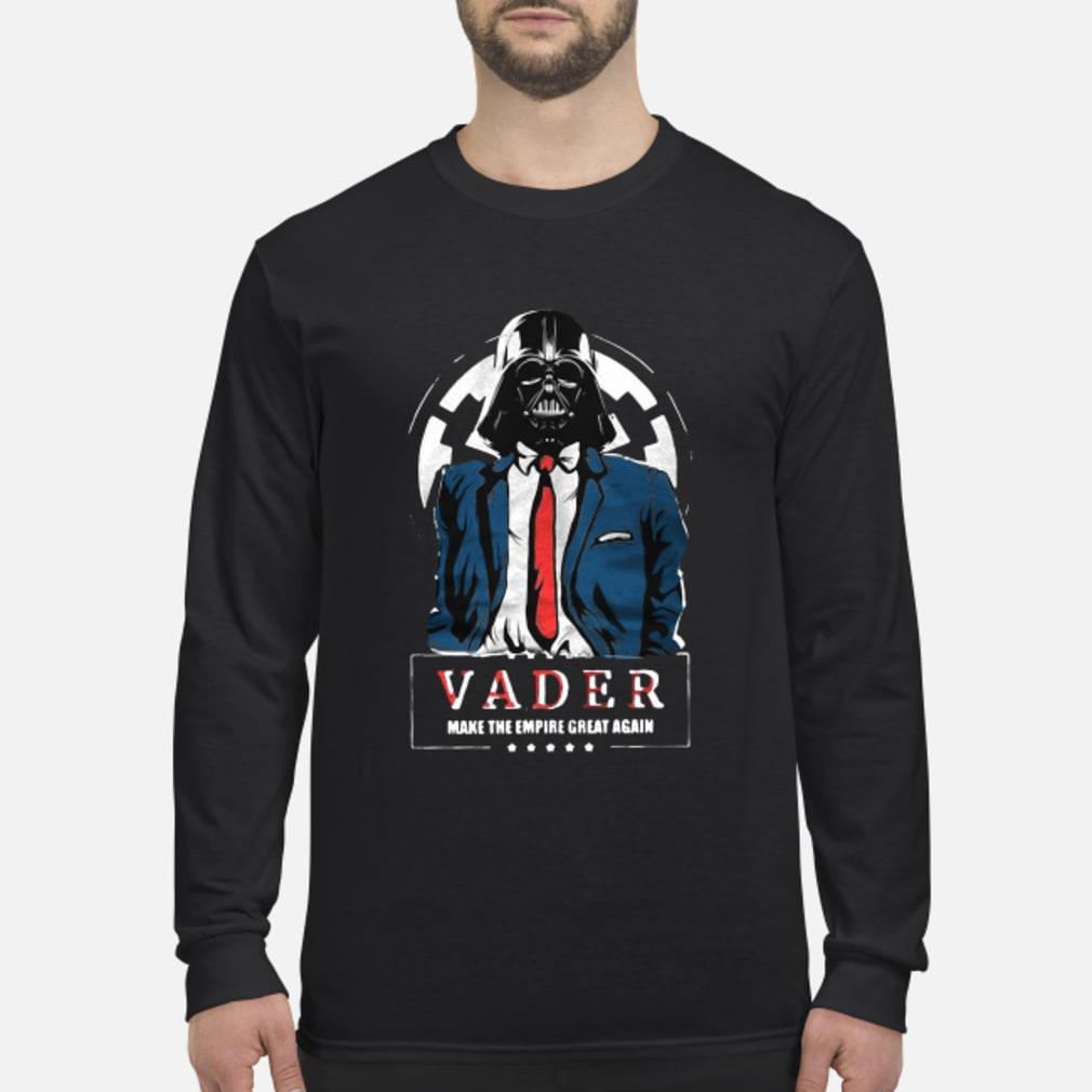 Vader Trump Make the Empire Great Again Shirt Long sleeved