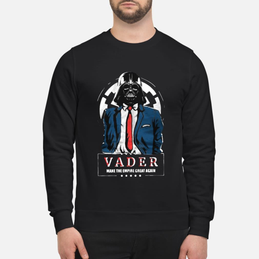 Vader Trump Make the Empire Great Again Shirt sweater