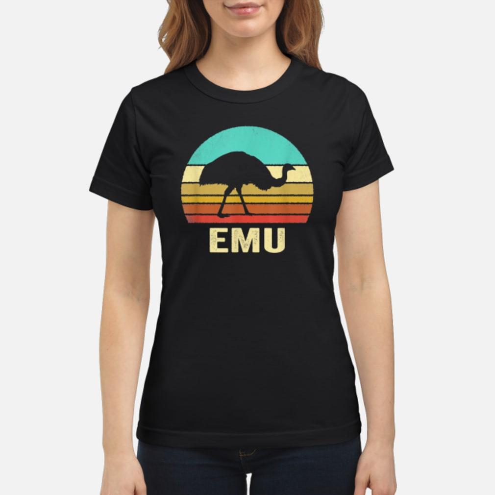 Vintage Emu Shirt Sunset Shirt ladies tee