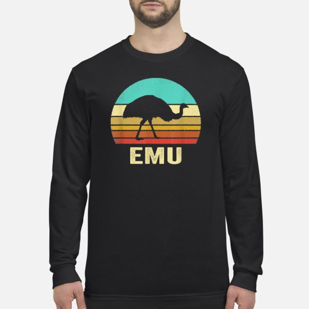 Vintage Emu Shirt Sunset Shirt Long sleeved