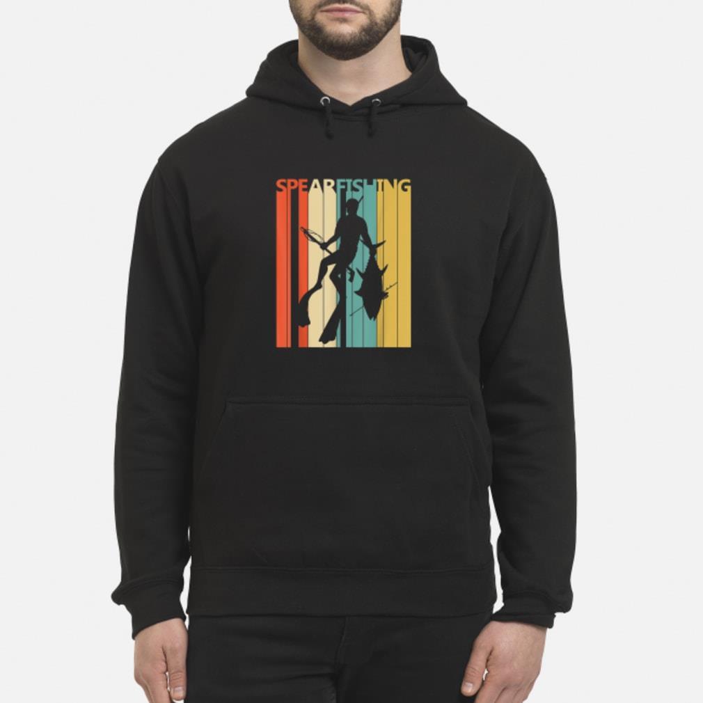 Vintage Spearfishing T-Shirt hoodie