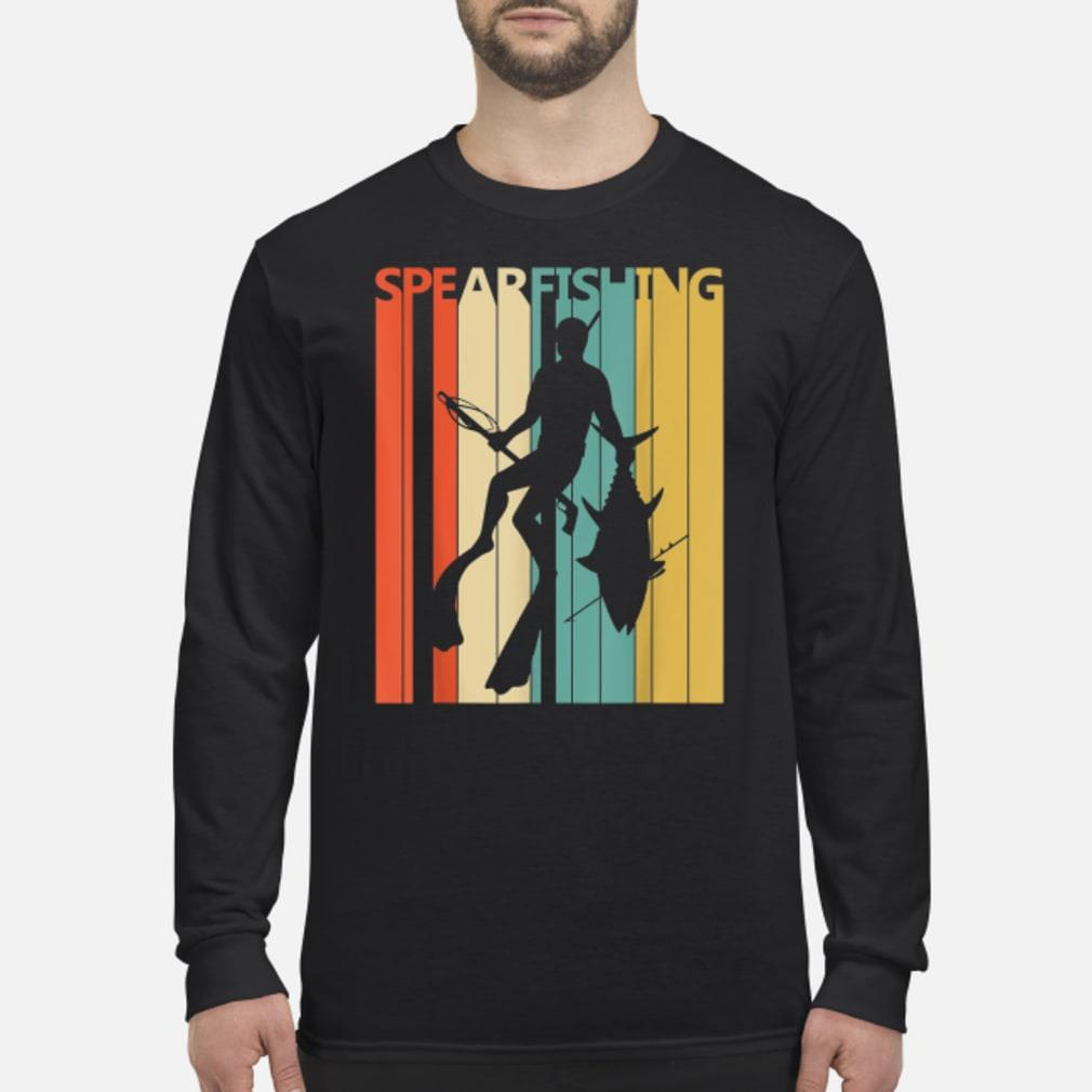 Vintage Spearfishing T-Shirt Long sleeved
