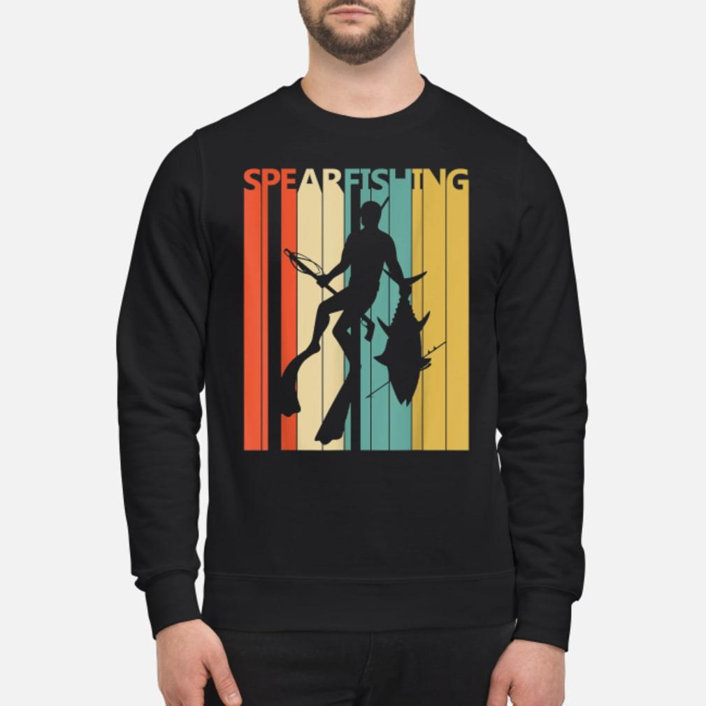 Vintage Spearfishing T-Shirt sweater