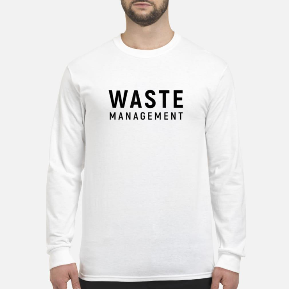 Waste Management shirt Long sleeved