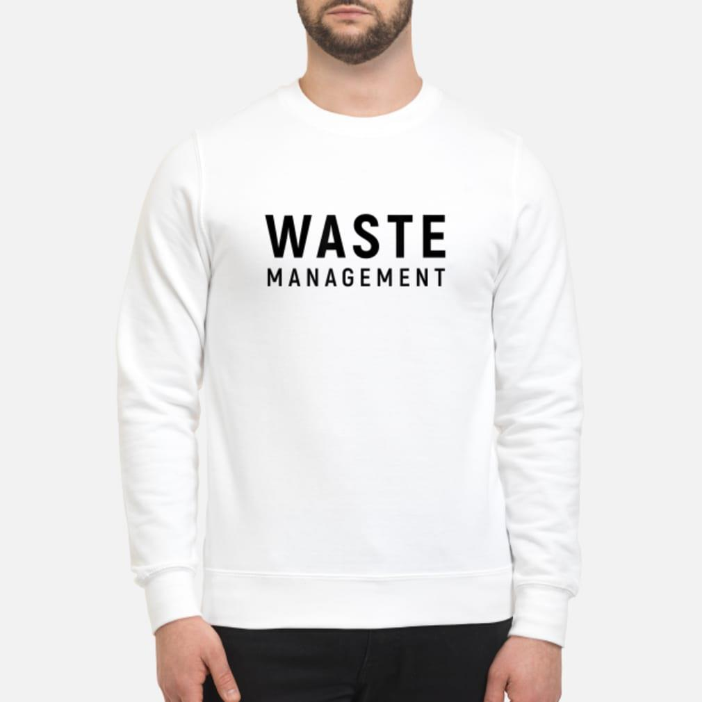 Waste Management shirt sweater