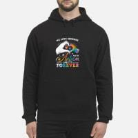 We love someone with Autism and it's forever shirt hoodie