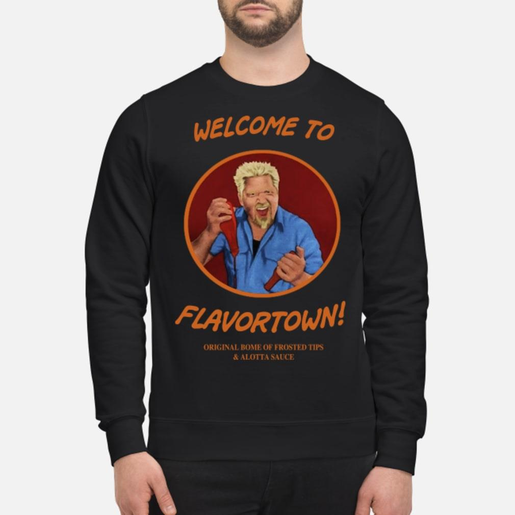 Welcome to flavortown Shirt sweater