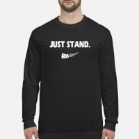 just stand shirt long sleeved